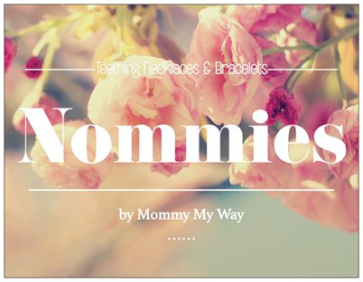 Nommies by Mommy – Silicone teething necklace