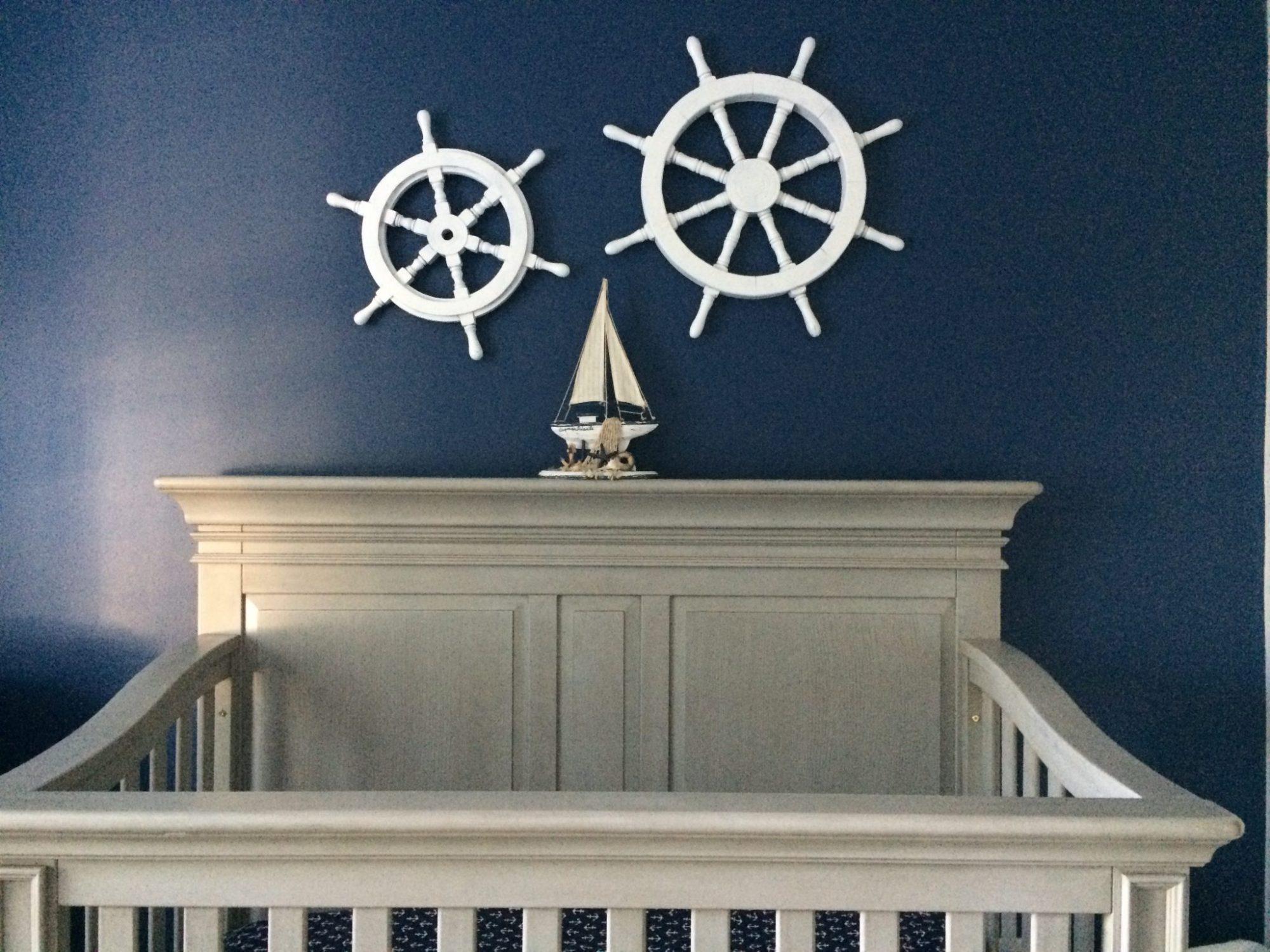 diy nursery decorations nautical wall art. Black Bedroom Furniture Sets. Home Design Ideas