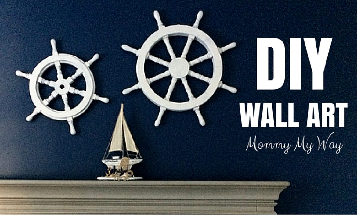 diy nursery decorations nautical wall art