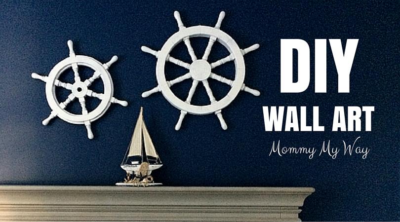DIY Nursery Decorations – Nautical Wall Art