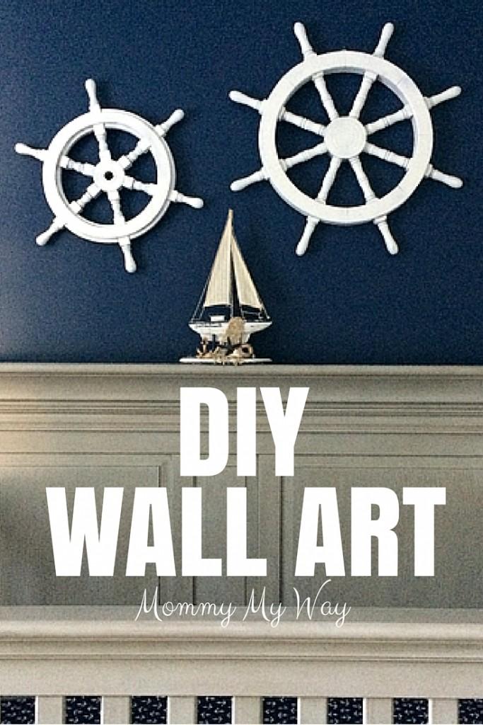diy wall art nautical nursery