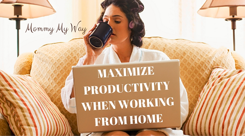 Working from home – How to maximize productivity
