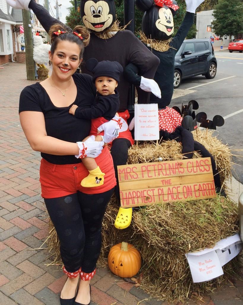 mickey and minnie matching costume