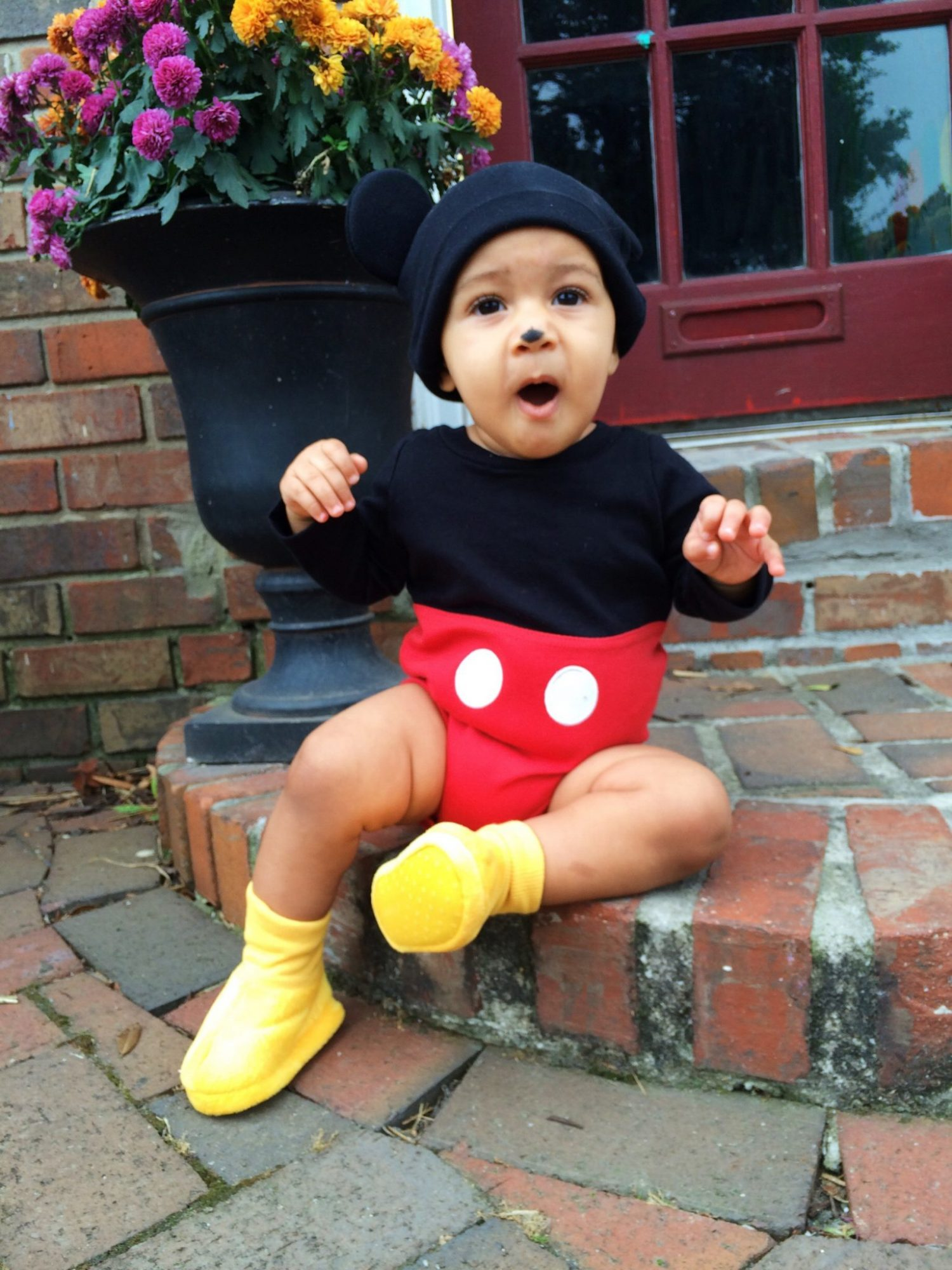 mommy and me halloween costume - mickey & minnie