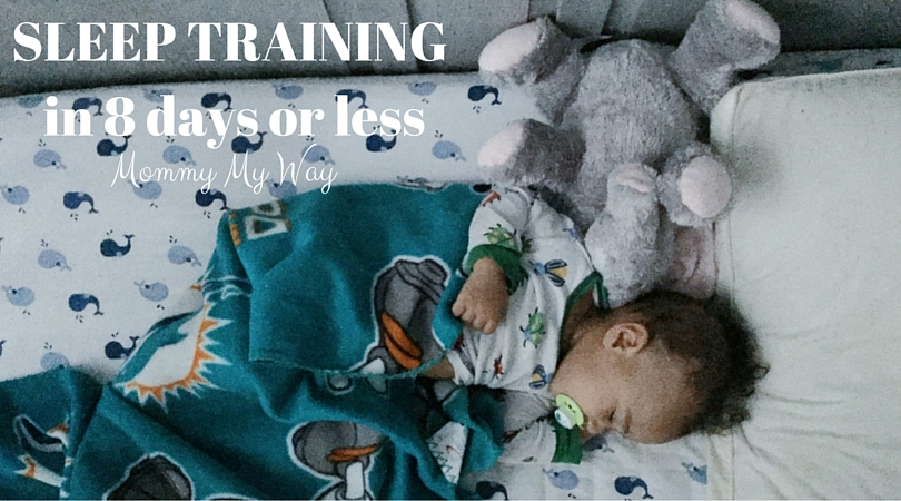 Sleep Training my 10 month old