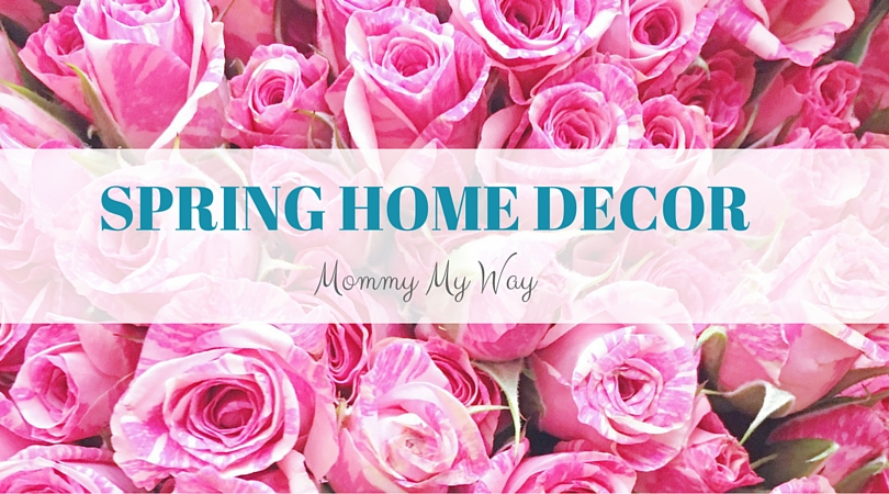 Spring home decoration – Flowers & bright colors