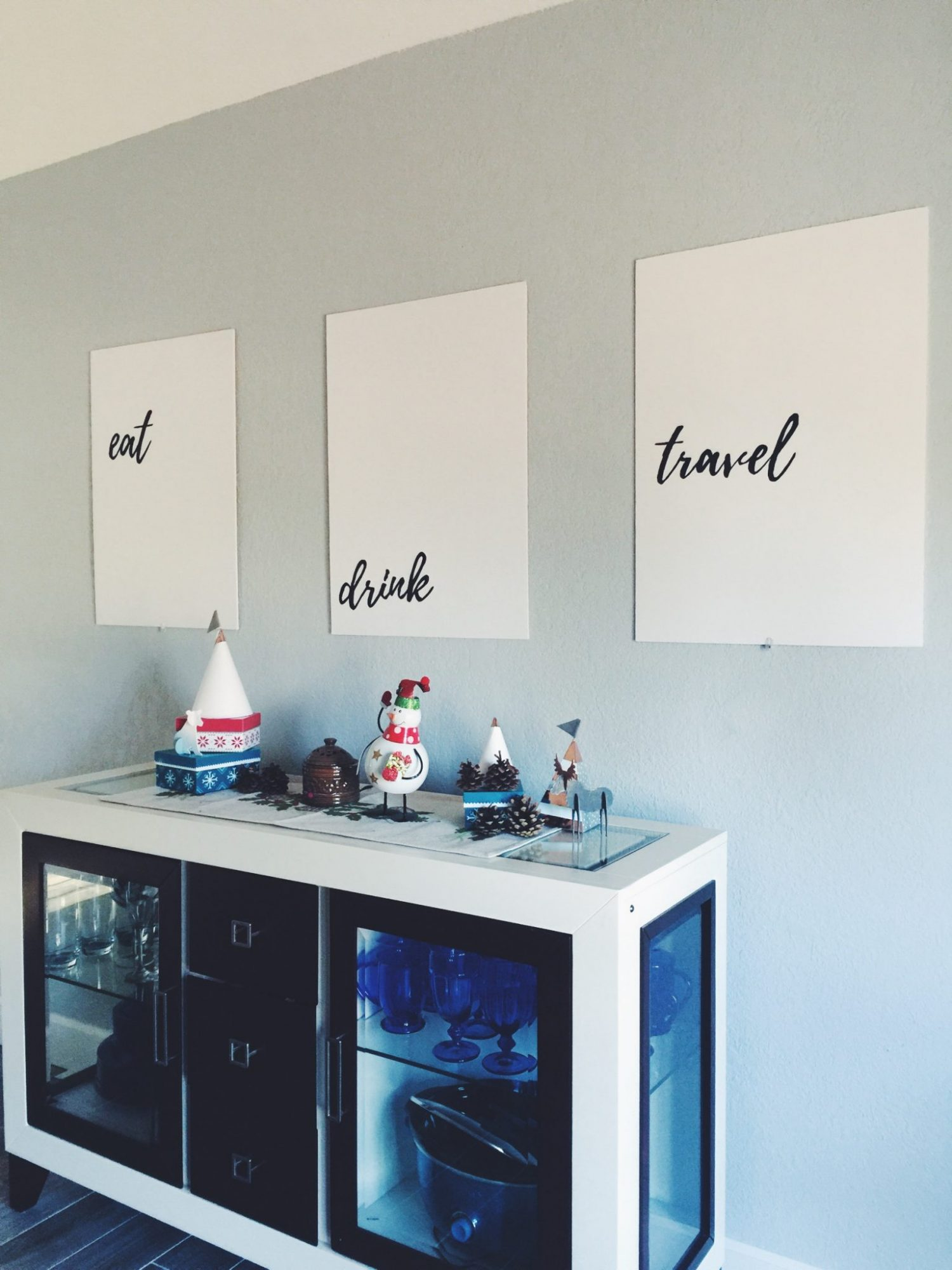 share the post minimalist dining room wall art diy on a budget