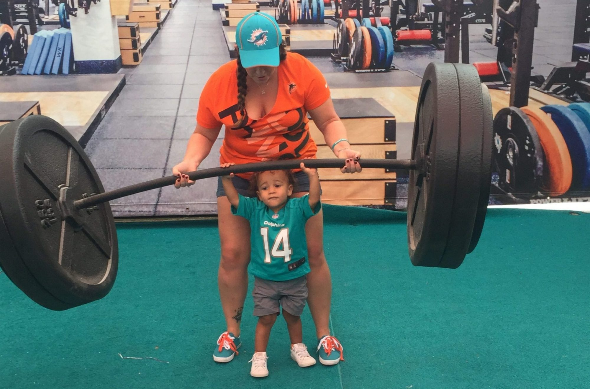 First Football Game – Miami Dolphins win against the 49ers