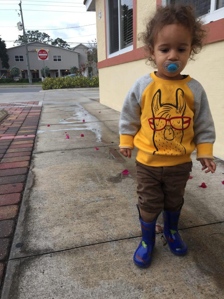 pacifier at preschool