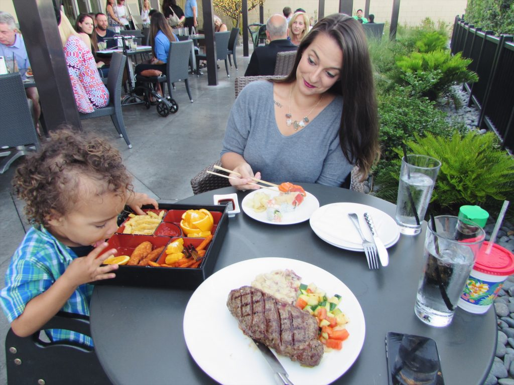 mommy and son date night kona grill