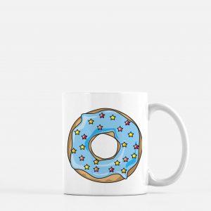 Donut Coffee Mug 11 oz