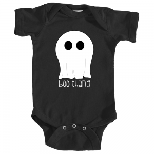 boo thang halloween infant one piece body suit