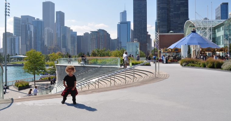 Chicago Family Vacation Part 1 – A day at the Navy Pier