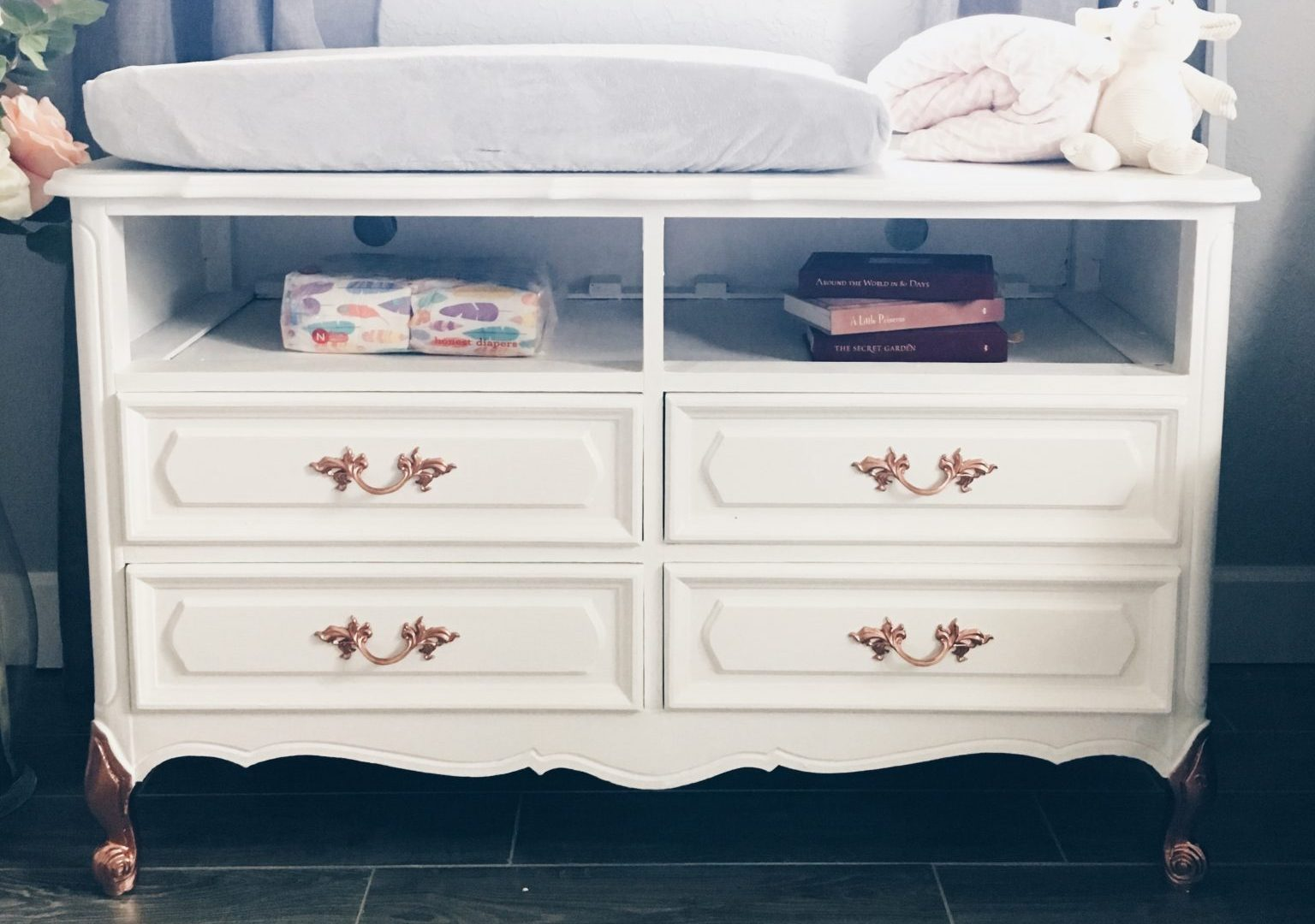 How To Organize A Changing Table Mommy My Way