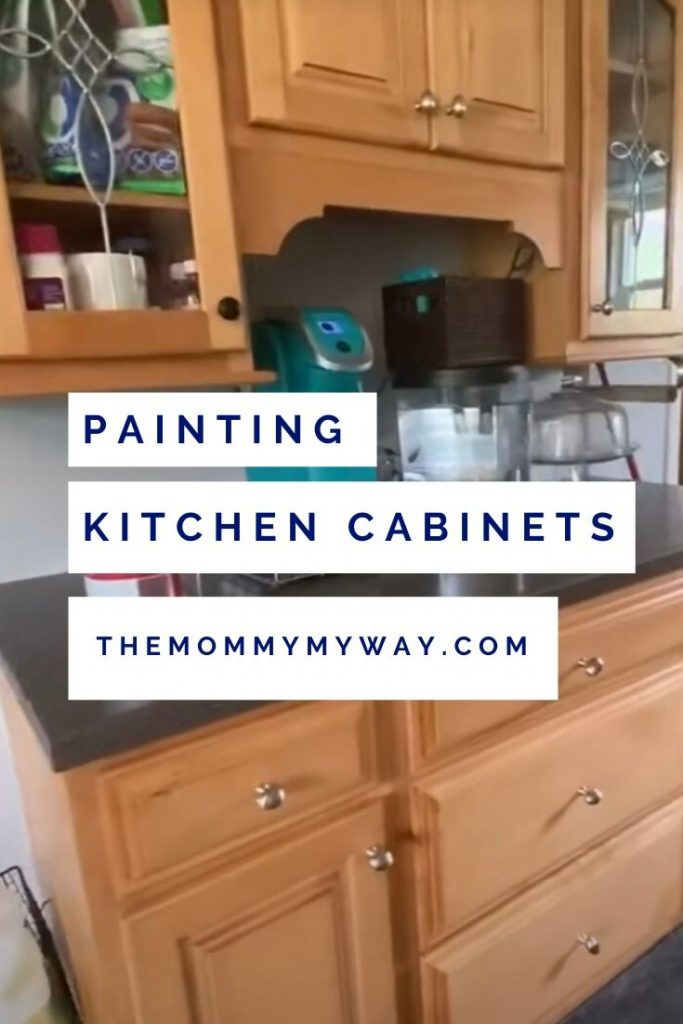 Easiest Way To Paint Kitchen Cabinets Mommy My Way